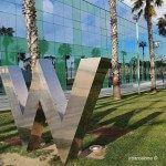 icono W Hotels en el exterior