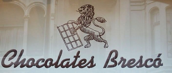 Chocolates Brescó en la Casa Calvet Barcelona