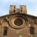 detalle fachada Sant Pau del Camp