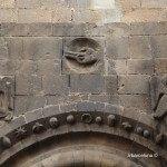 detalles fachada Sant Pau del Camp