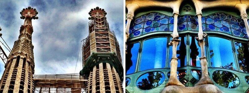 Casa Batlló y Sagrada Familia