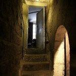 escaleras hacia el campanario