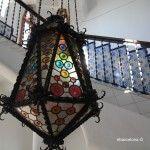 lámpara entrada Bellesguard