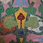mosaico del vestíbulo