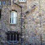 tubería fachada lateral