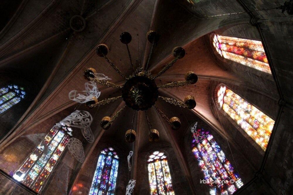vidrieras Santa Maria del Pi