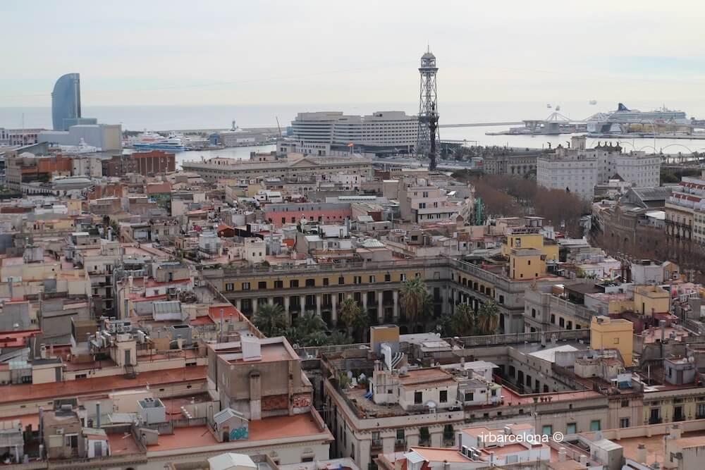 vistas de la plaza Real