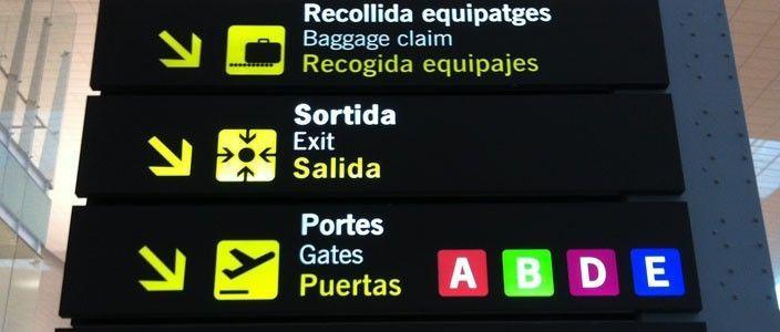 Aeropuerto Barcelona El Prat