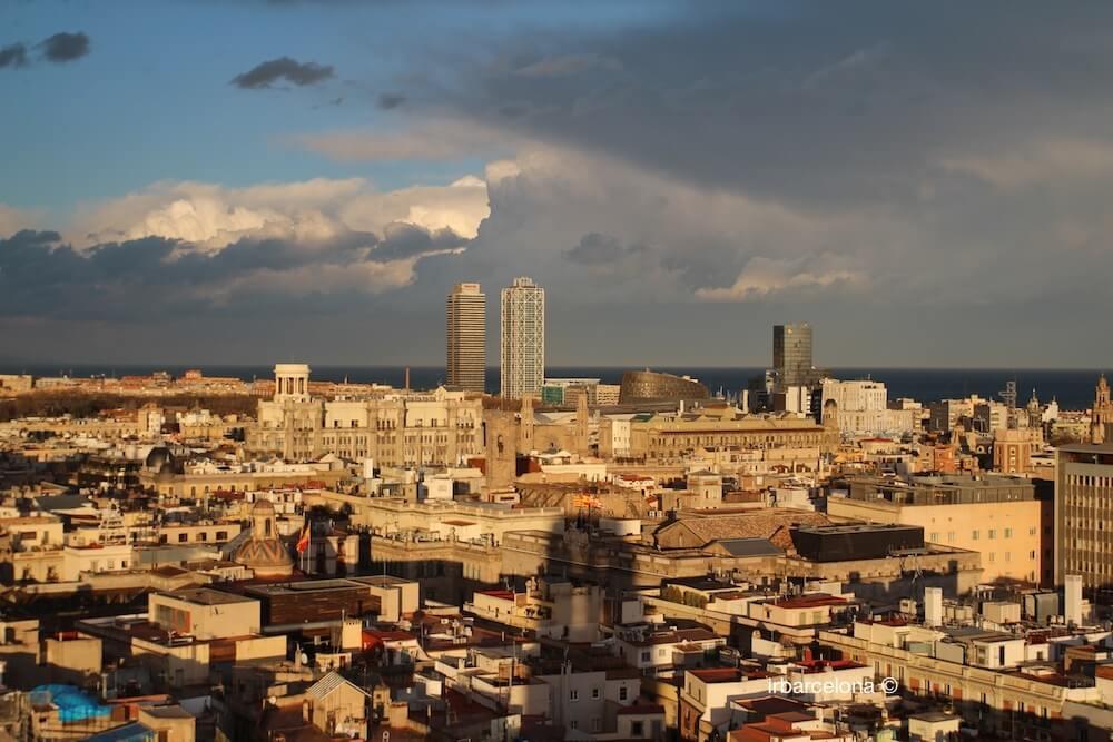 vista torre Mapfre y Hotel Arts