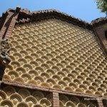 fachada pabellón finca Güell