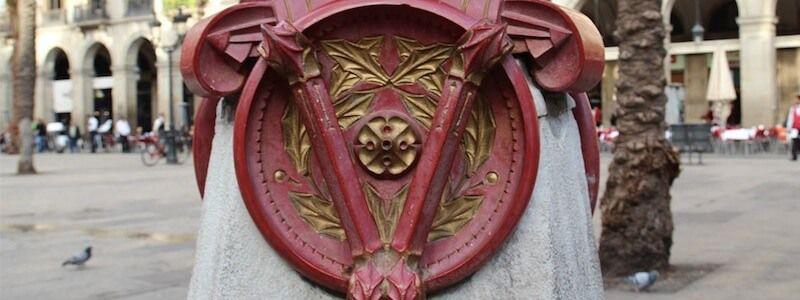 farola Gaudí