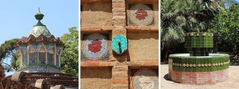 Pabellones Finca Güell Jardín Gaudí