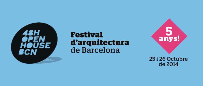 48h Open House Barcelona 2014: Visitas puertas abiertas edificios