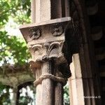 decoración floral capiteles