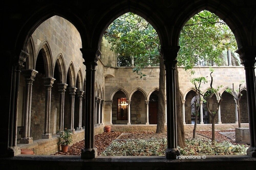 claustro iglesia Santa Ana