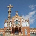 cruz recinto modernista Sant Pau