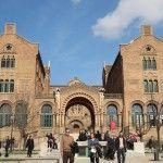 edificio convento Santa Creu i Sant Pau
