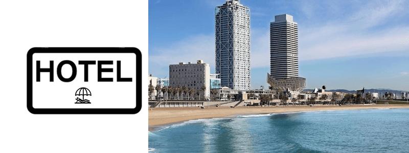 Hotel playa Barcelona