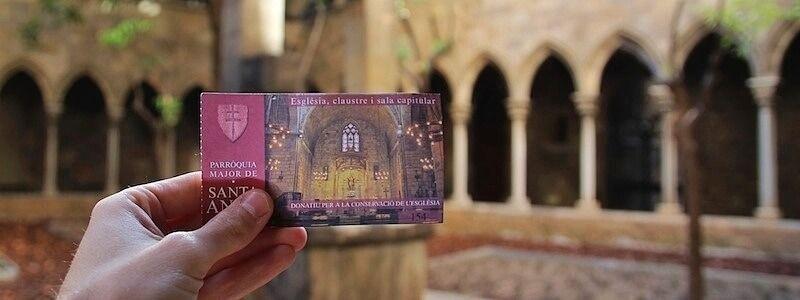Iglesia Santa Ana Barcelona