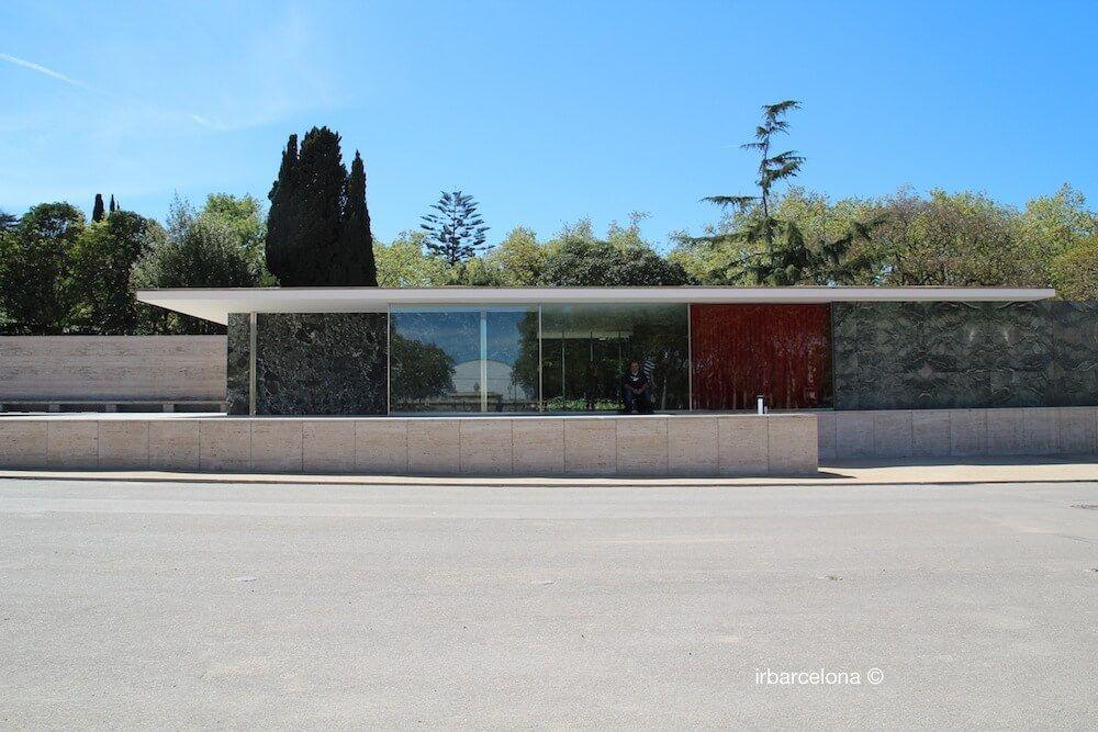 Padiglione Barcellona Mies Van der Rohe - Padiglione Tedesco  irBarcelona
