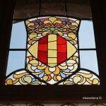 vidriera Pabellón Administración