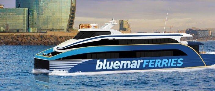BlueMar Ferry Sitges Barcelona