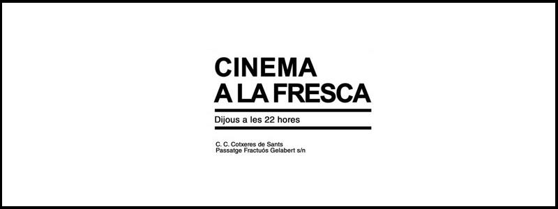 Cine Verano Cotxeres Sants 2017