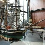 restauración maqueta barco