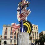 escultura Cara de Barcelona