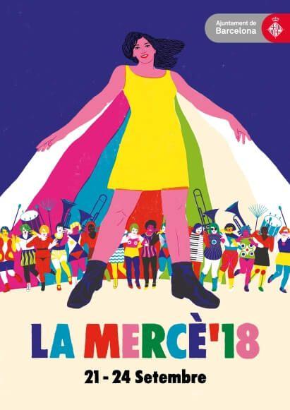 cartel La Mercè 2018