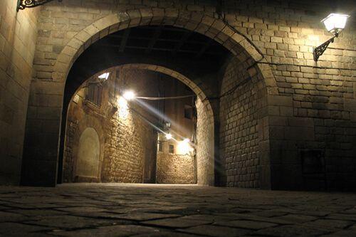 ruta nocturna Barrio Gótico Barcelona