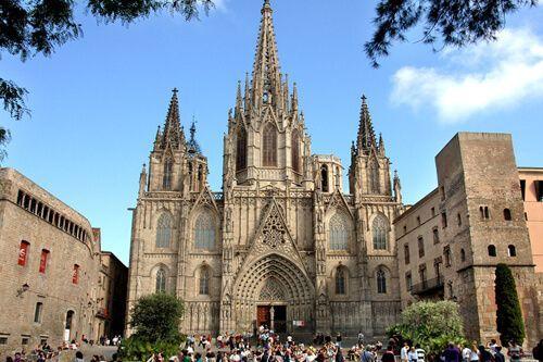 ruta barrio gótico Barcelona