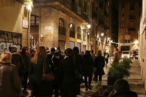 ruta nocturna Fantasmas Barcelona
