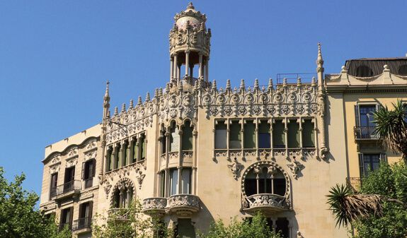ruta guiada modernismo Barcelona