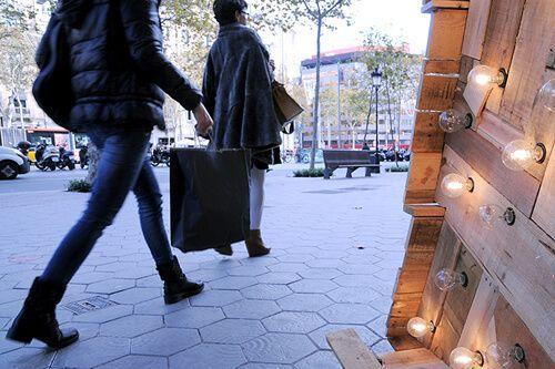 ruta de compras Barcelona