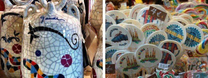 souvenirs Barcelona