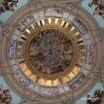 interior de la cúpula del MNAC