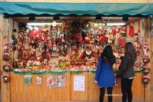 parada mercado navideño