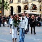 pareja en Sant Jordi