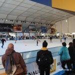 Bargelona, la pista de hielo