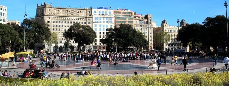 Plaza de Catalunya