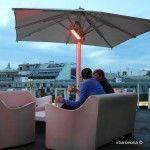 relax en la terraza de los hoteles