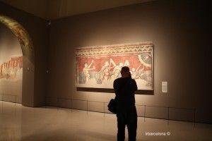 fotógrafo en la colección de arte románico