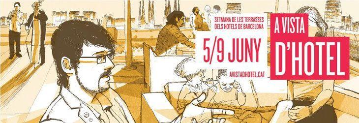 Semana de las Terrazas de los Hoteles de Barcelona 2012