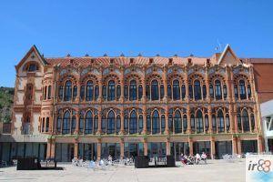 façana interior edifici modernista CosmoCaixa