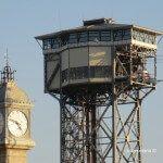 Torre del Reloj y torre Aeri del Port
