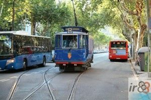 Tramvia Blau (tranvía azul)