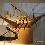 maqueta egipcia barco