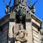 esculturas monumento Cristóbal Colón