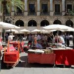 mercadillo dominical Plaza Real